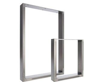 ON SALE 2 x Table Legs - Dining Pedestals in Industrial Steel