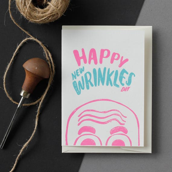 Pastel Greeting Card Funny For Wife Birthday