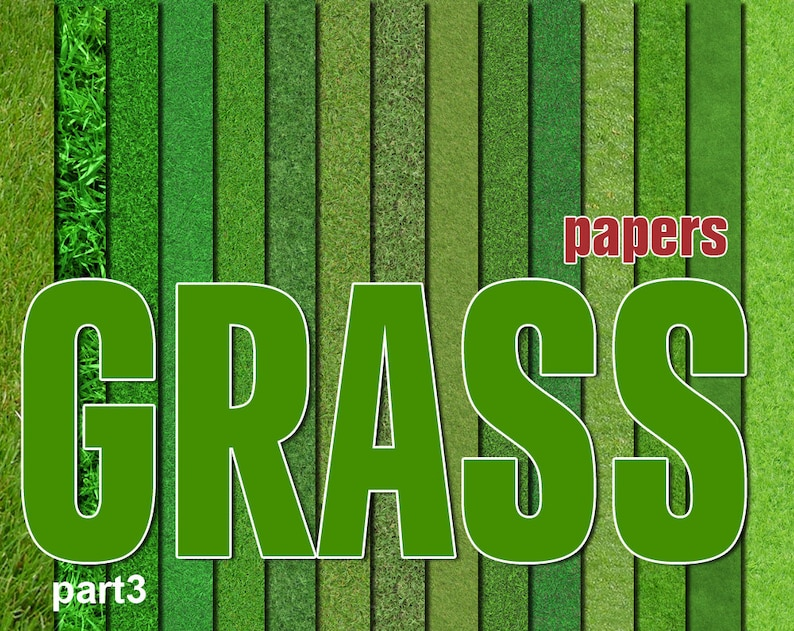 image regarding Printable Grass titled Electronic Gr Paper Pack, 15 printable Electronic Sbooking papers, fotorealistic Electronic Collage, gr clip artwork, Quick Obtain, mounted 18