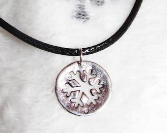 Winter necklace pendant