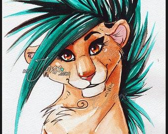Zima Lioness PRINTS