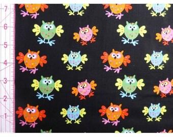 UK Shop: Organic Cotton Flappy Owls Copenhagen Fabrics