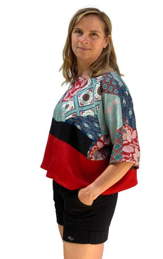 Obi Fabric Skirt Vintage Obi Sustainable Wear Upcycled Kimono Japanese Fabric Silk Skirt Vintage Kimono Silk Comic con