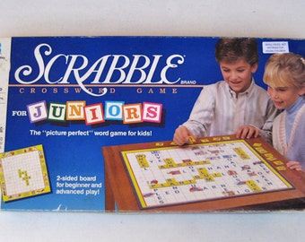 made in USA brought to you by UsefulRetro! Selchow and Righter Vintage 1970/'s Scrabble Crossword Cubes Game