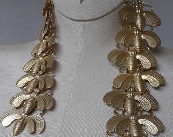 the Bees ear-cuff fashion statement jewelry accessories brass jewelry designers original ear cuff Unique