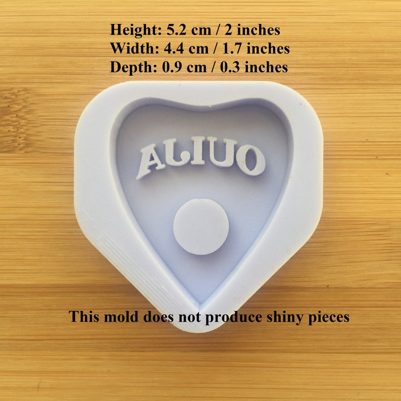 oven safe mould Food Safe Silicone Rubber for resin polymer clay chocolate soap wax fondant candy jewelry Ouija Planchette Silicone Mold