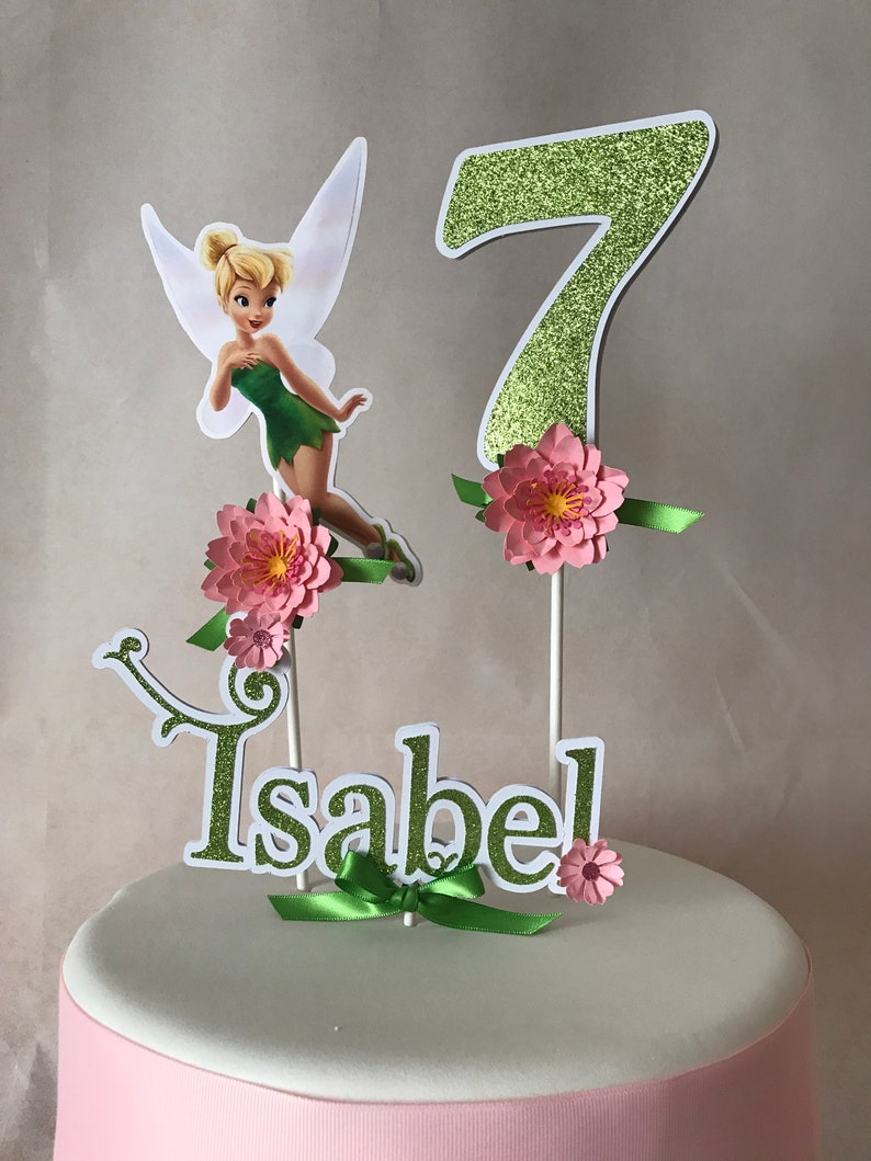 Tinkerbell Cake Topper Party Fairy