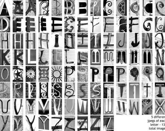 Photo letter art | Etsy