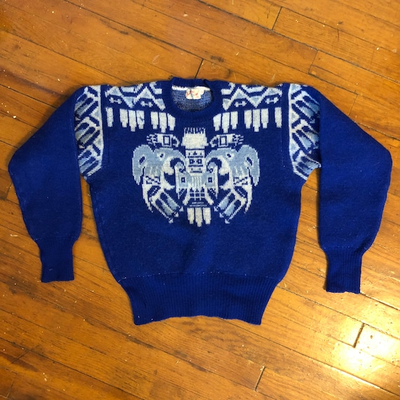 Vintage 1940s 1950s Jantzen Sweater Native America
