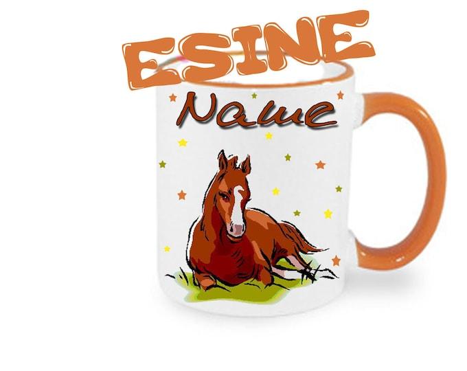Mug named horse