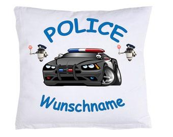 Child Pillow Police Police + name