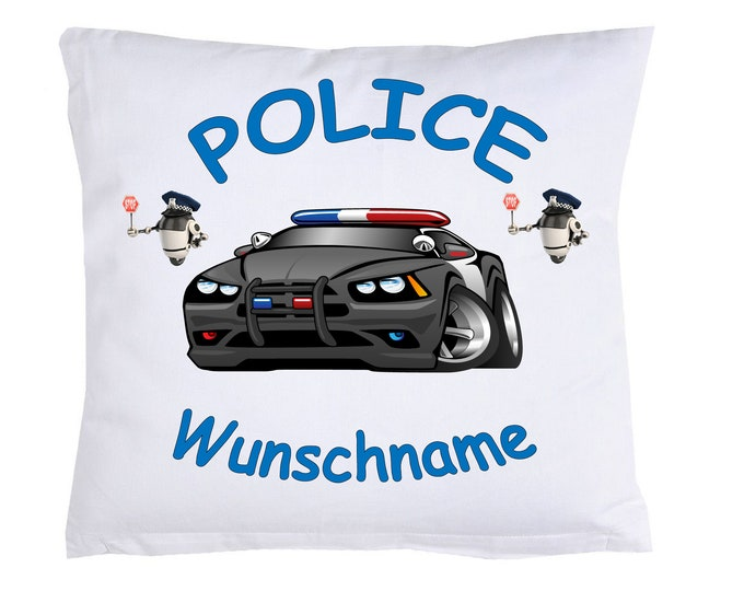 Child Pillow Police Police + name