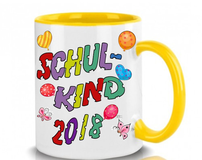 Mug with Name schoolchild 2018-2019