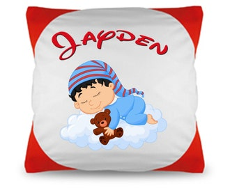 Cuddle pillow named Pillow Baby Cloud + wish name