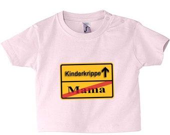 Baby T-shirt nativity/Mom 62-86