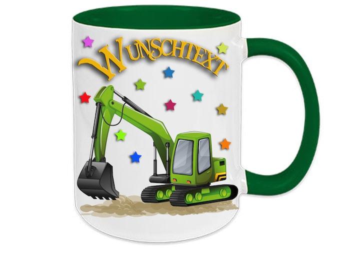 Mug with Name excavator