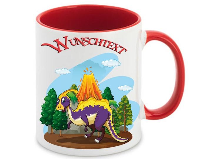 Mug named Dino Volcano