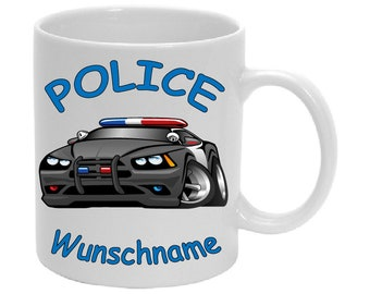 Mug called police cops