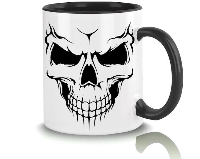 Mug with name Skull Skull