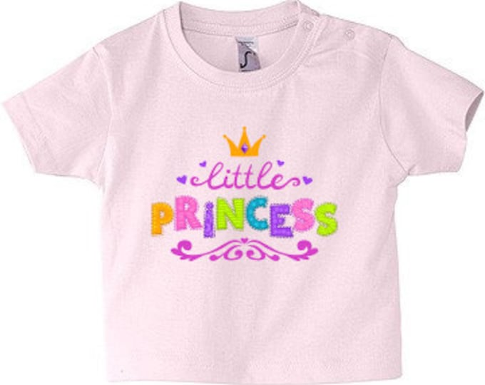 Baby T-shirt Spit Little Princess 62-86