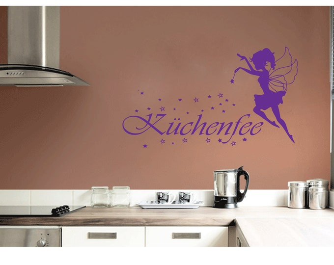 Wall Sticker Cookie Elf Kitchen