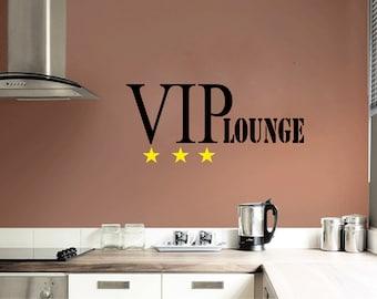 Wall Sticker VIP Lounge