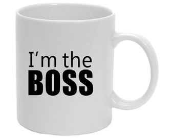 Cup I'm the boss
