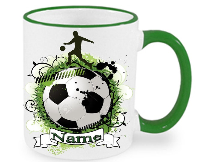Cup named Football World Cup EM Mug