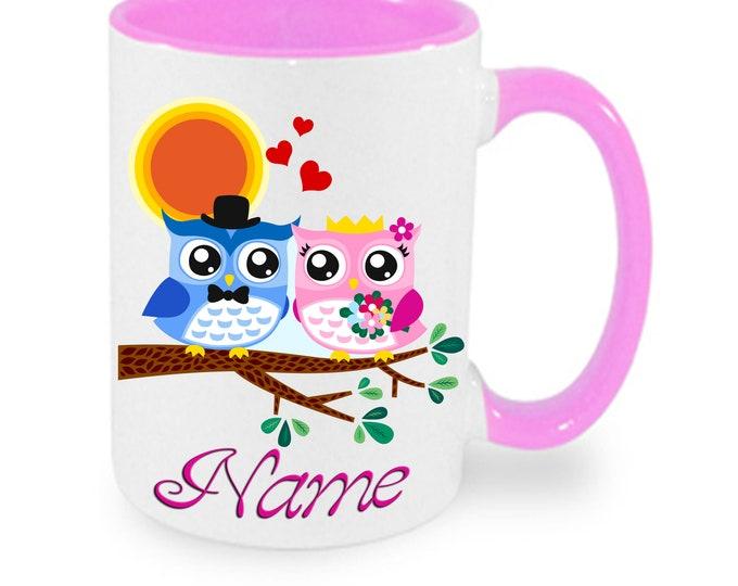 Mug named Eulenpaar Owl