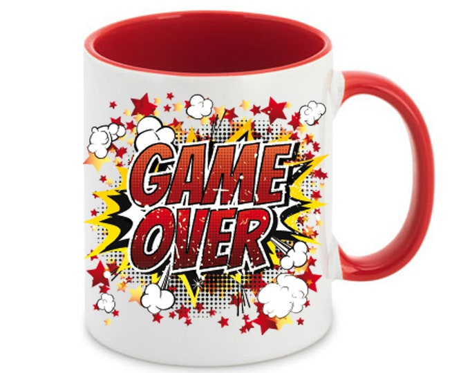 Cup called Game Over