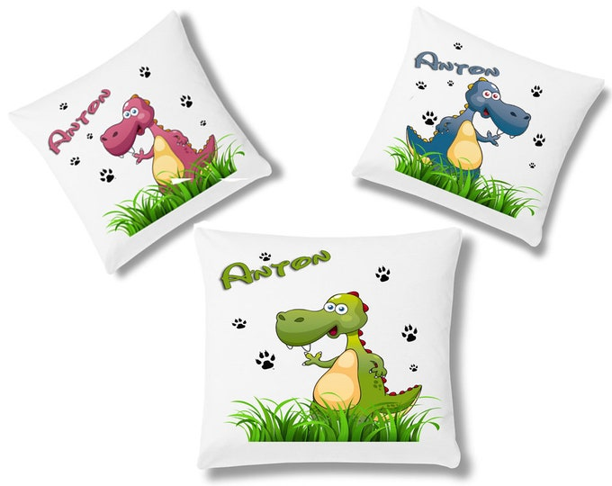 Cuddle Pillow Child Pillow Dragon Dinos name