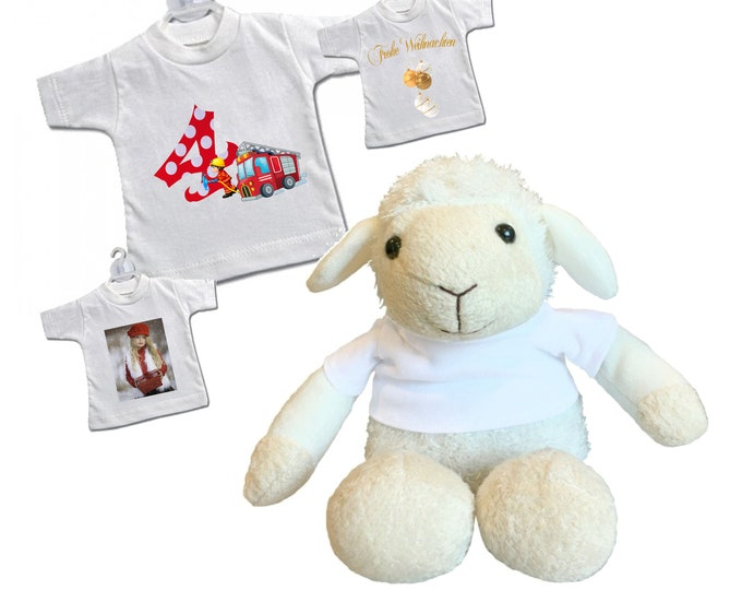 SCHAF Berta with your own design plush toy