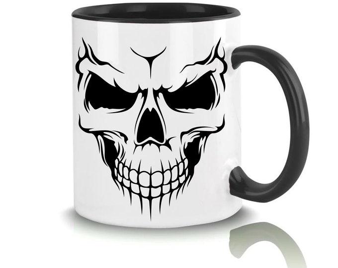 Mug named skull