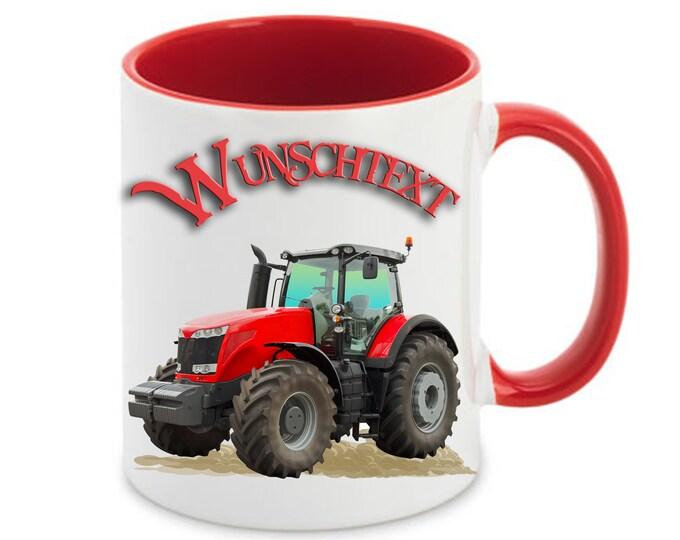 Mug called farm tractor