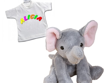 Elephant Linus with desired name or desired text