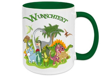 Cup named Dino Dinosaur