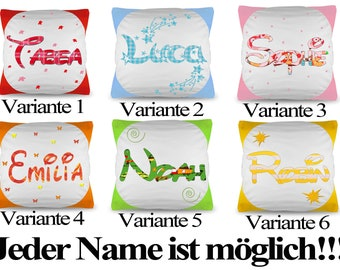 Name Pillow pillow Color In 6 Variants