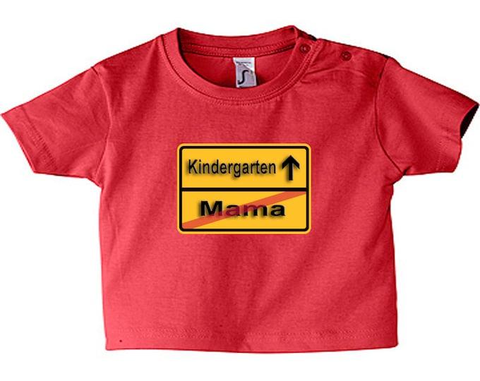 Baby Shirt Flock-Kindergarten/Mama