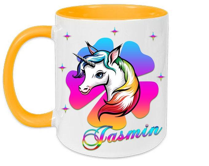 Mug named Unicorn Rainbow