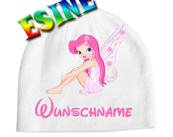 Children's cap Fairy & name Print digital print