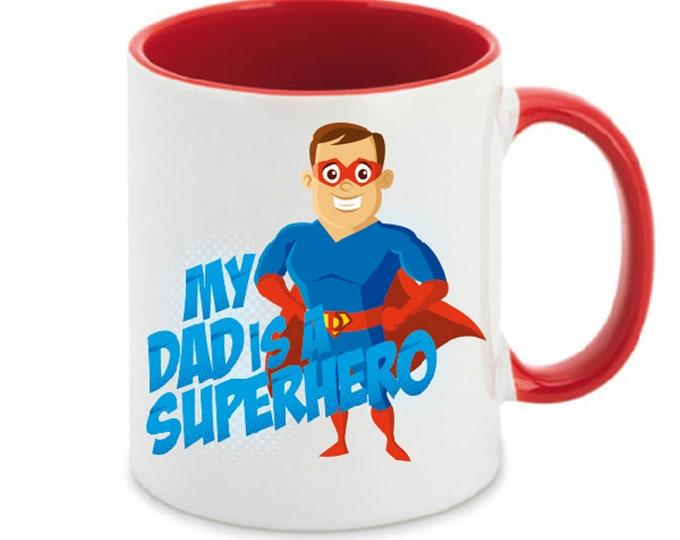 Mug named Super Dad Heroes