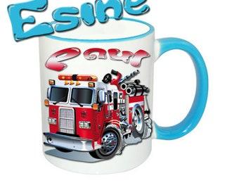 Mug named fire Brigade