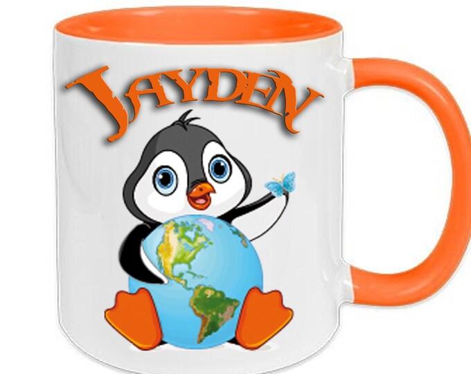 Mug named Penguin