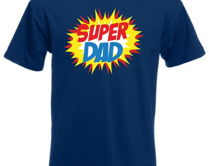 Super Dad T-shirt Funshirt