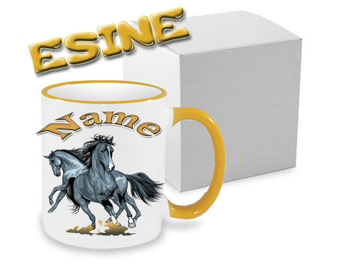 Mug named horse stallion