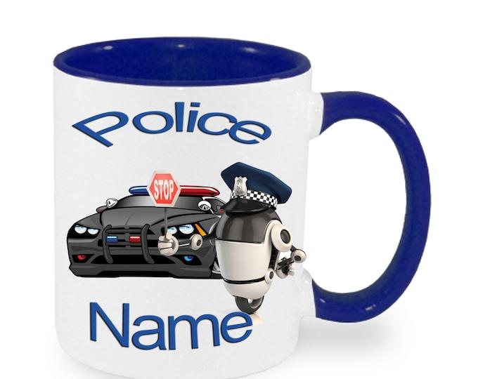 Mug called police