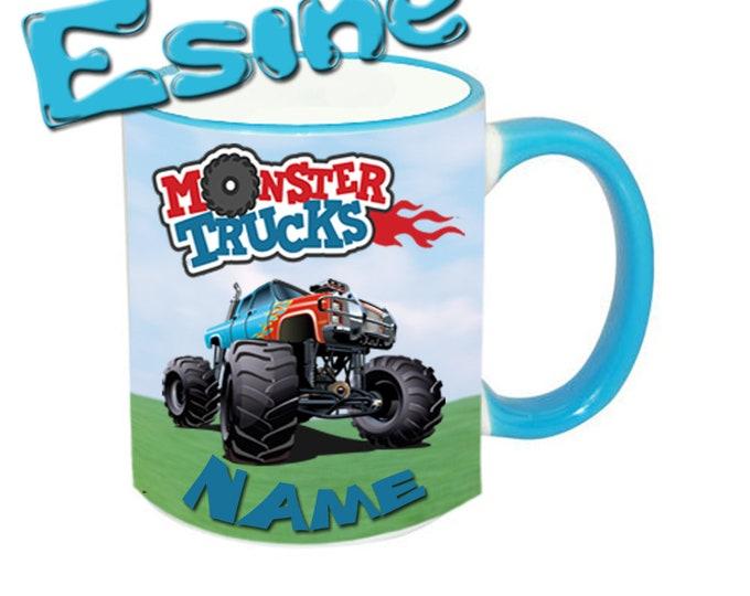 Mug named monster truck