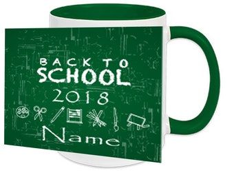 Mug with Name schoolchild 2018-2019