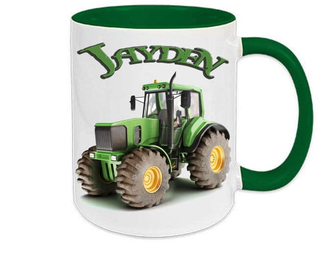 Cup With Name Tractor Trekker