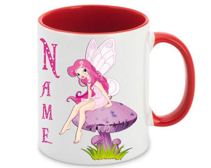 Kids cup named Fairy Elf
